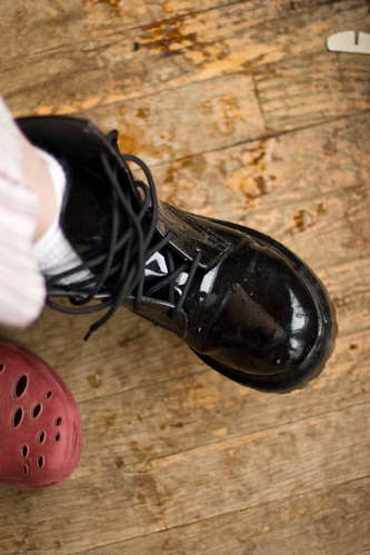 Humble Garden 2010: my boots | by nikaboyce