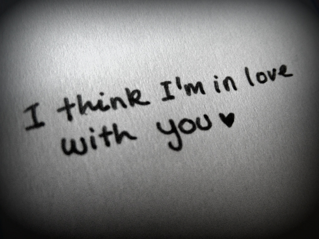 I Think I'm In Love With You songtekst