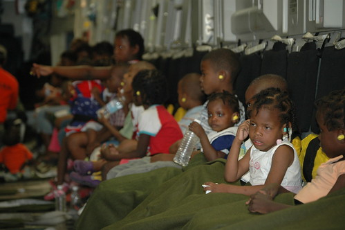 Orphans Leave Haiti | by DVIDSHUB