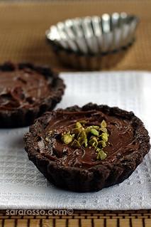 Nutella & Mascarpone Cream Chocolate Tarts for World Nutella Day 2010 | by MsAdventuresinItaly