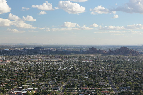 Downtown Tempe and Papago Park | by mmechtley