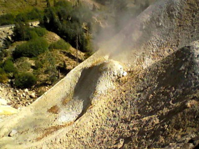 Sulfur Works, Lassen