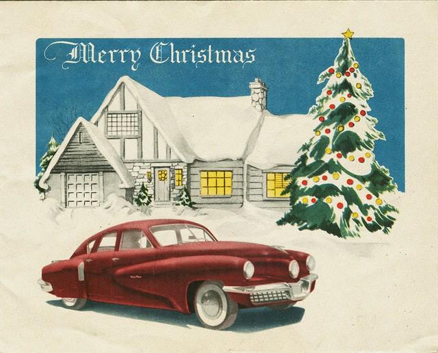 Tucker Corporation Christmas Card, 1947