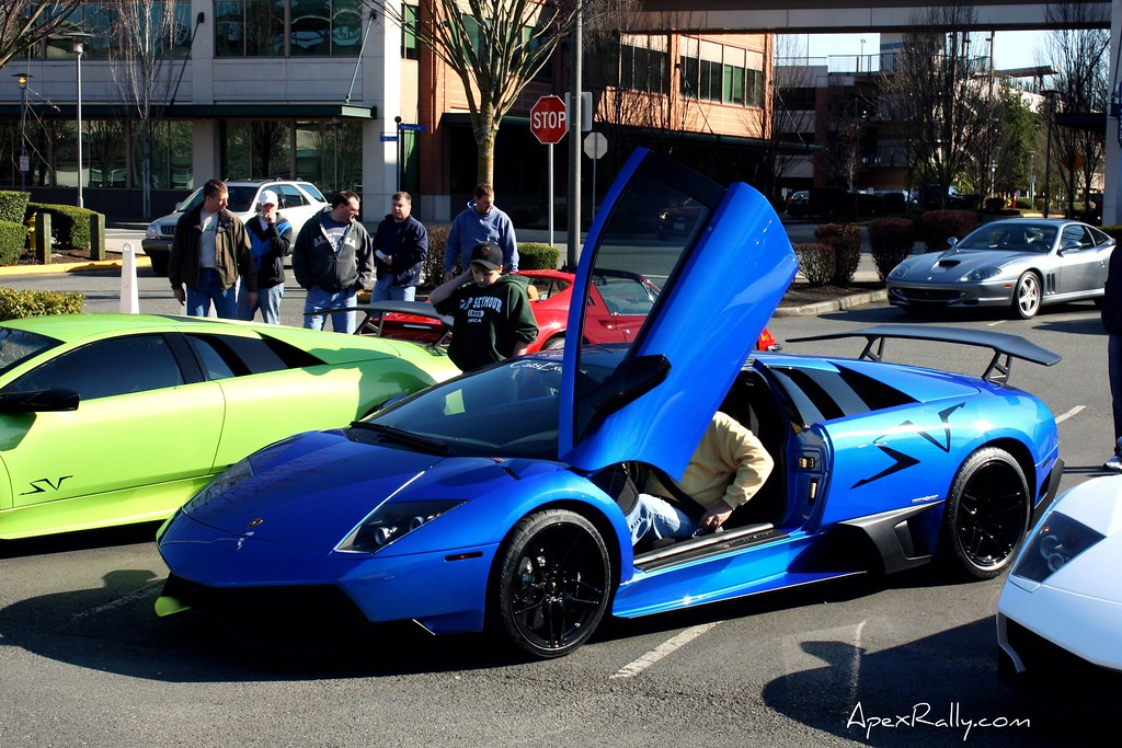 Monterey Blue Lamborghini Murcielago Sv 670 4 This Is The Flickr