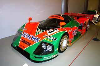 Mazda 787B Winner of Le Mans 24 Hours 1991. Driven by Volker Weidler, Johnny Herbert and Bertrand Gachot