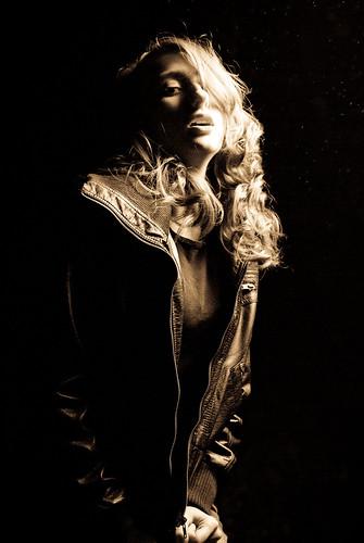 portrait woman girl monochrome beautiful sepia model nikon pretty alissa actress d200 morgan fetherolf alissafetherolf morganfetherolf