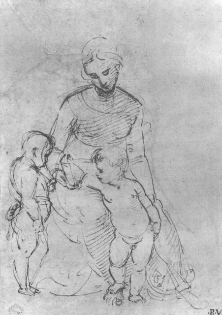 Raphael: Study for the