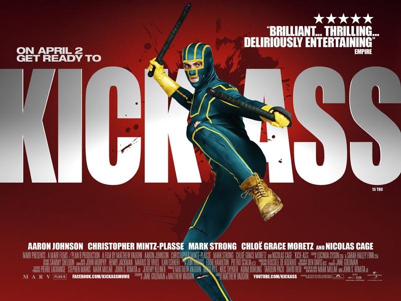 Kick Ass Movie Poster | Kick-Ass is a 2010 superhero film ba… | Flickr