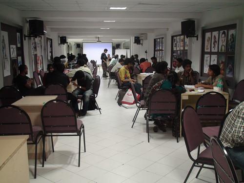 The workshop at ICAT Chennai | by Ernest W Adams