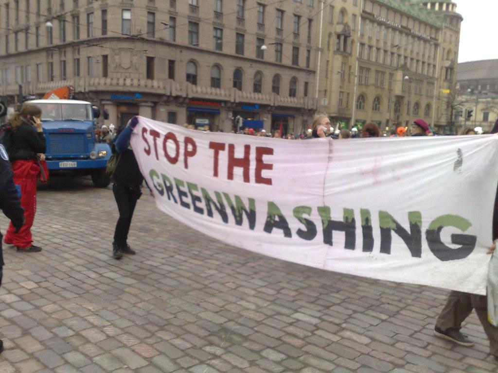stop greenwashing e la tua azienda sostenibile