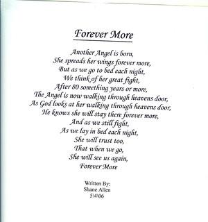 grandma's poem | by Brumley Family