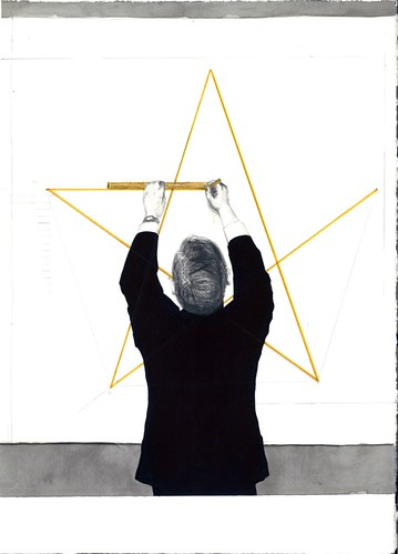 "Erik Parra ""Figure Drawing: Star Polygon"""