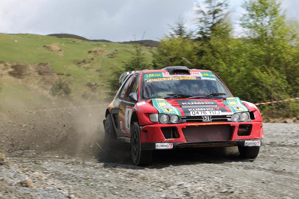 Nuevo significado cumpleaños Contribución  Andy Burton Peugeot Cosworth Plains Rally May 2010   Flickr