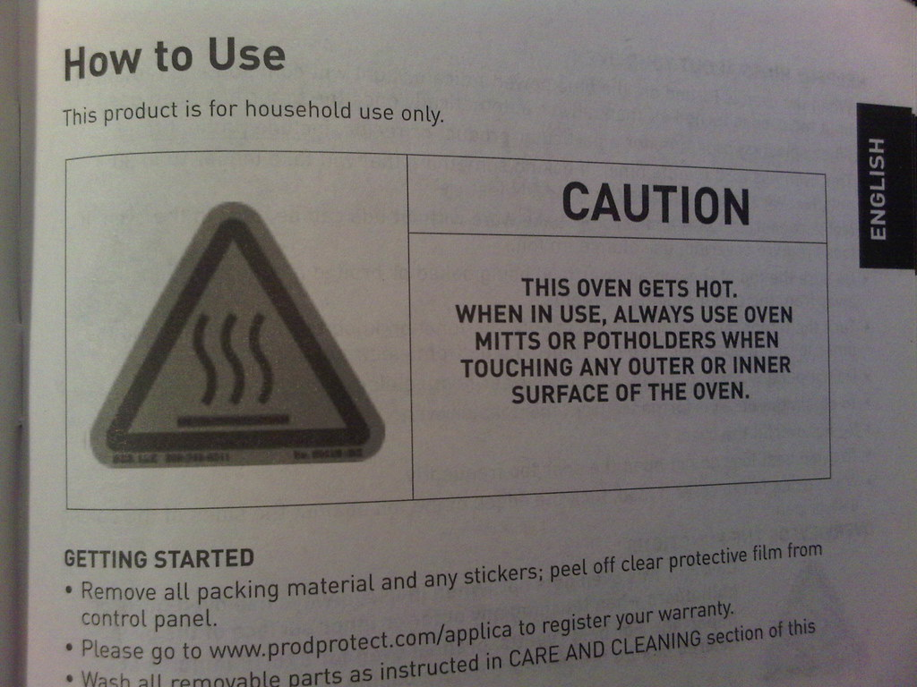 Image result for toaster warning""