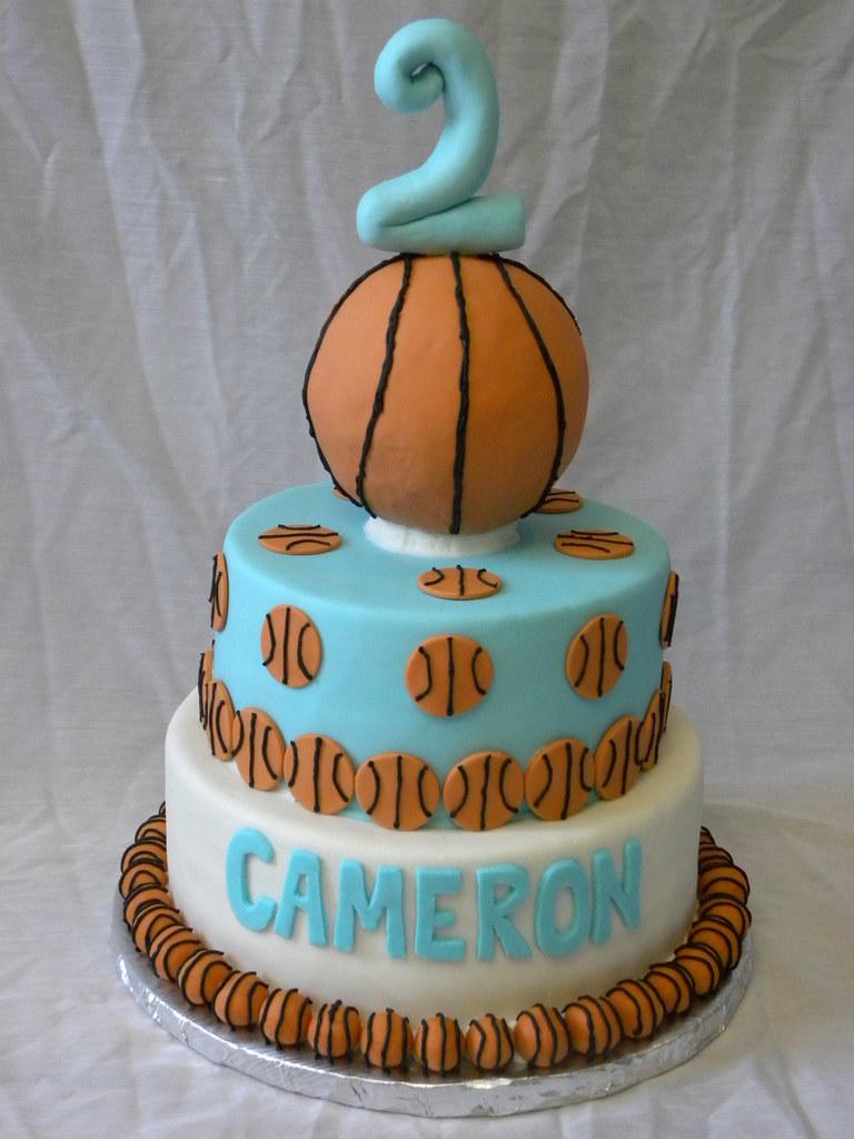 Awe Inspiring Basketball Birthday Cake All Fondant The Sweet Divine Flickr Funny Birthday Cards Online Inifofree Goldxyz