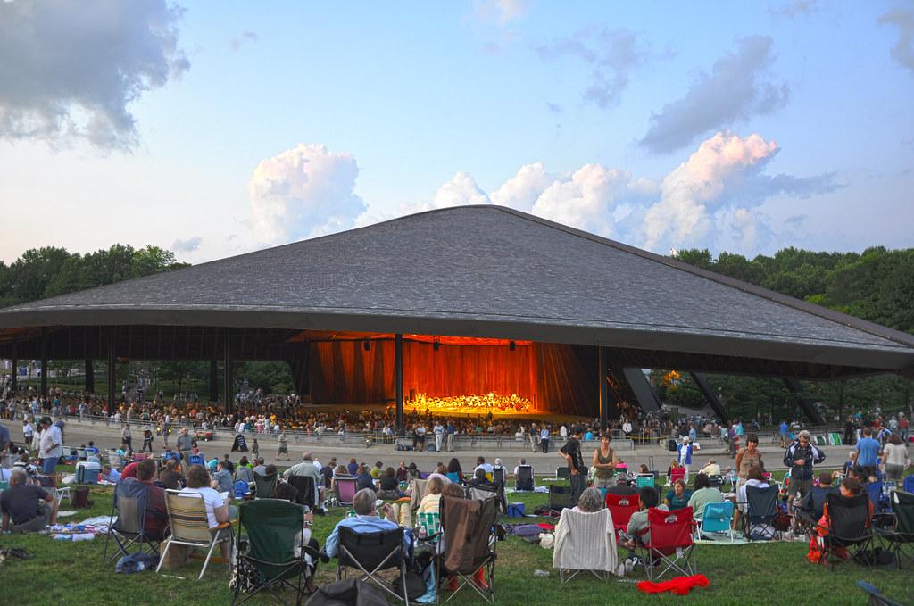 Blossom Music Center Blossom Music Center Ohio Chloester Flickr