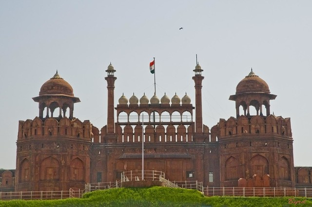 Lahore Gate - the Red Fort (1648) - Old Delhi