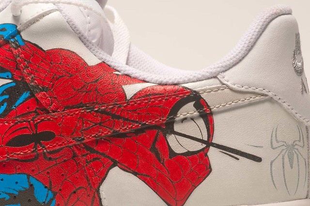 uk availability 2b00d f0bc5 ... Nike air force one spiderman vs green goblin   by urbancraftsman custom  sneakers