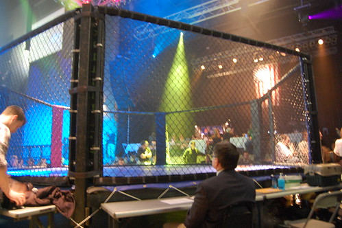 Mixed Martial Arts Cage | by fightlaunch