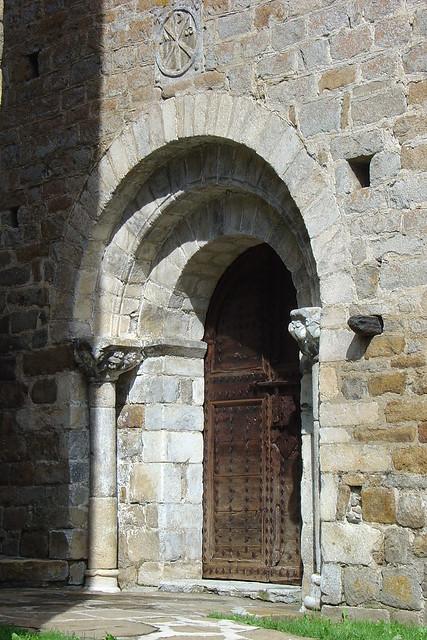Tredós: Santa Maria de Cap d'Aran, portada