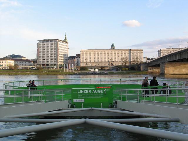 Linz at the Danube - Austria