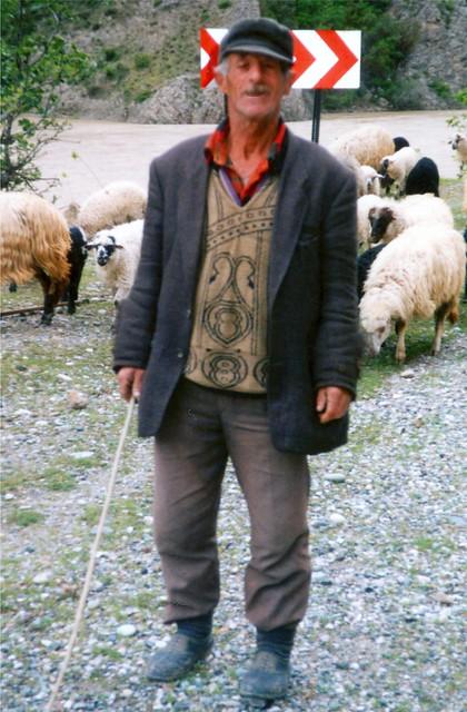 Old Turkish Shepherd