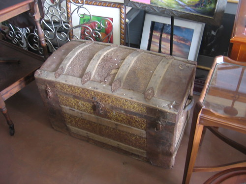 SOLD: Steamer trunk | by TheLivingRoominKenmore