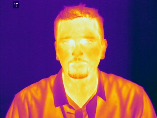 Me in Infrared! | by Steve Woolf