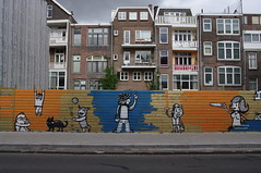 Provenierssingel painted fence