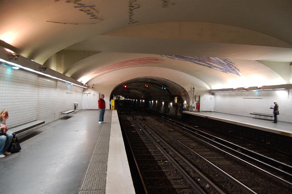 Pariser U Bahn