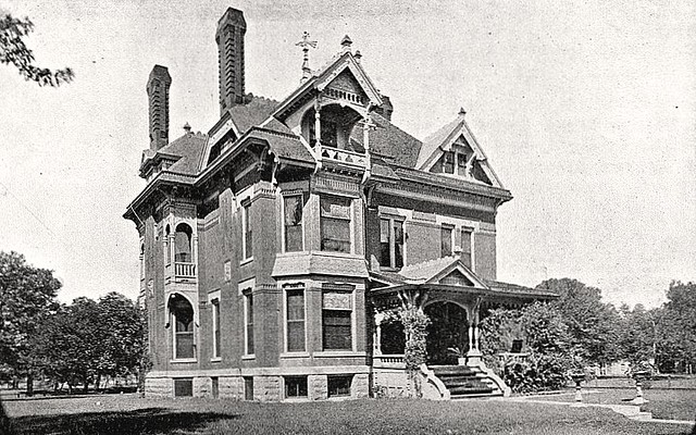 Finlay Ross Mansion Wichita Ks Photo C 1887 Of The Fin