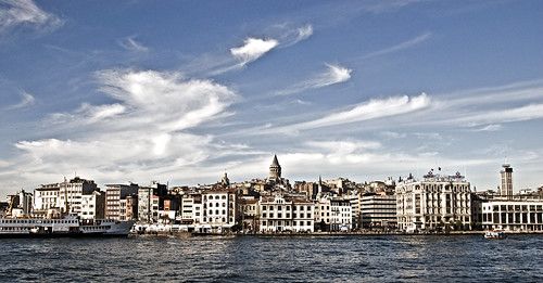 Istanbul from the Bhosphorus   by imgBear