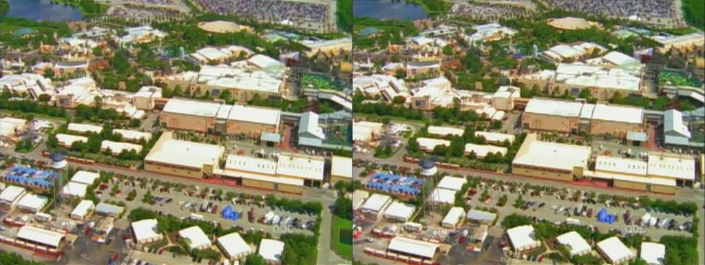 3d Aerial View Of Disney S Hollywood Studios Walt Disney Flickr
