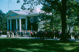 Haverford College - Roberts Hall and Commencement (1958)