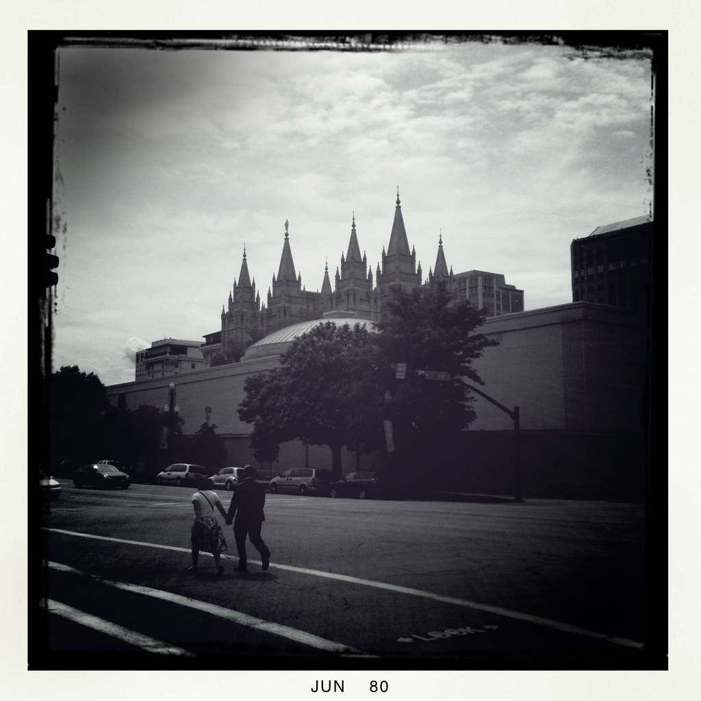 Downtown Salt Lake City Living: On The Way To The LDS Temple
