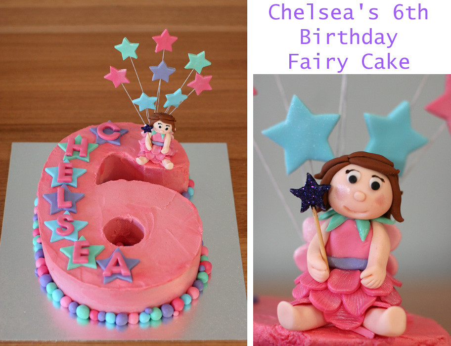Marvelous Number 6 Fairy Cake Kat Moss Flickr Funny Birthday Cards Online Alyptdamsfinfo