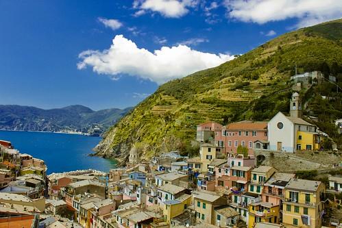 Coastal Living in Riomaggiore   by PK's Photo Diary