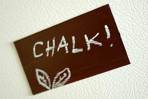 Chalkboard Magnet! | by -leethal-