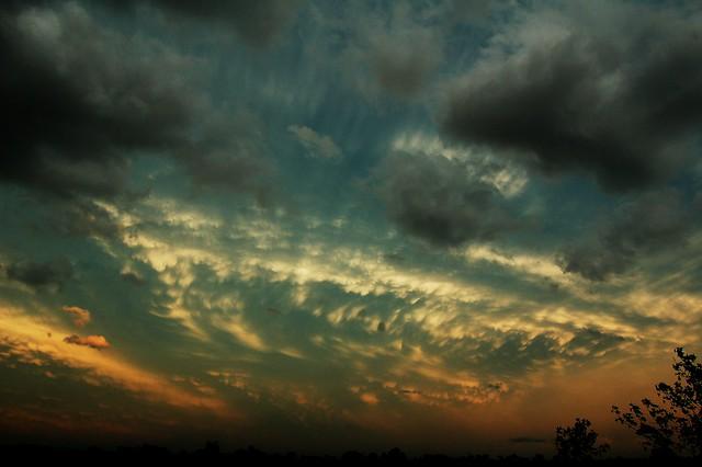 061910 - North Central Kansas Thunderstorms