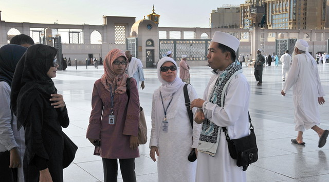 Baqi ... at the background ...