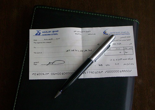 My First Earnings Cheque | by pshegubj