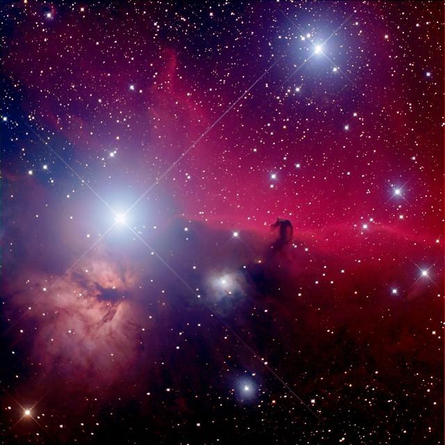 Horsehead Nebula & Flame Nebula