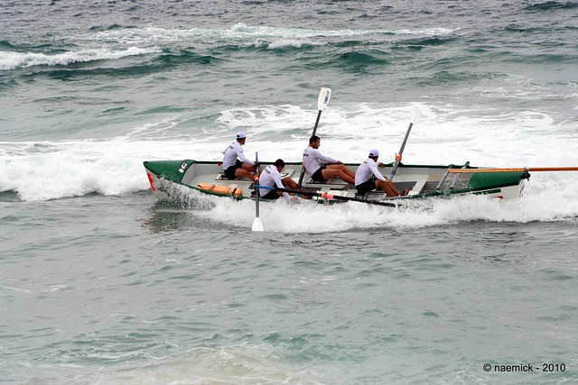 Surf boating