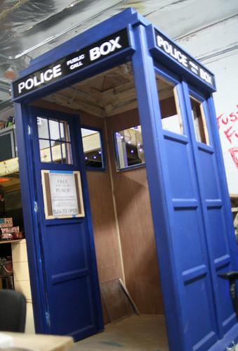 up the tardis   by opacity
