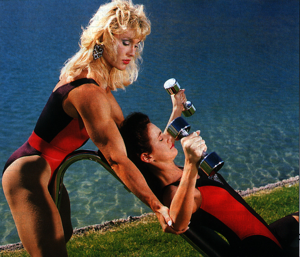 Workout with a lesbian touch (literally)