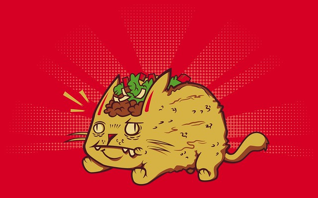 ... Taco Cat (Wallpaper Version) | by Omnitarian
