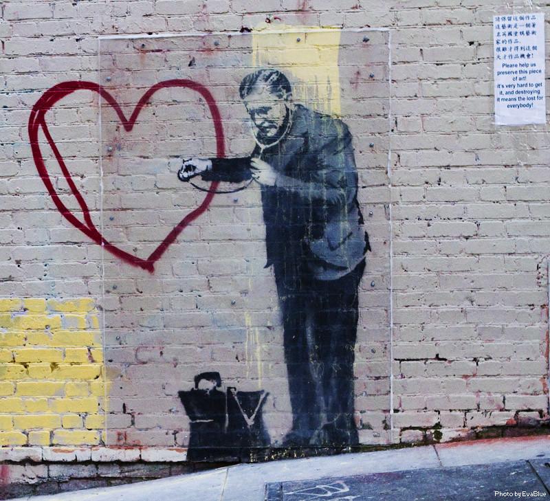 Banksy Peaceful Hearts Doctor 3 Peaceful Heart
