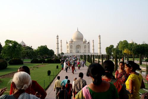[India] Taj Mahal of India インドのタージマハール   by kimama_labo
