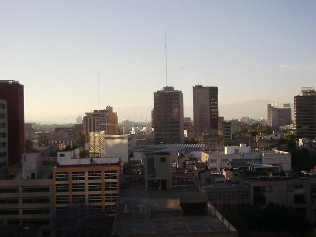 Vista a La Zona Rosa, Ciudad de México, Hotel Galería Plaza/View of Zona Rosa, Galeria Plaza Hotel, Mexico City - www.meEncantaViajar.com