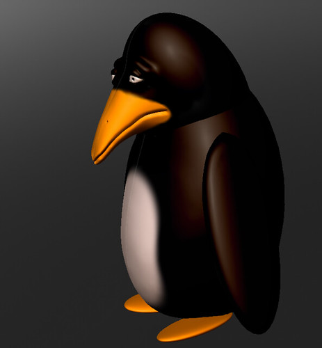 Sad penguin | My first try with Sculptris and 3d sculpting ...